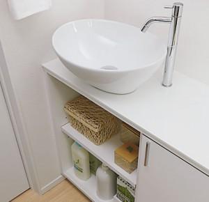 一条オリジナルトイレ手洗いカウンター