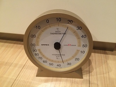 キッチンの温度