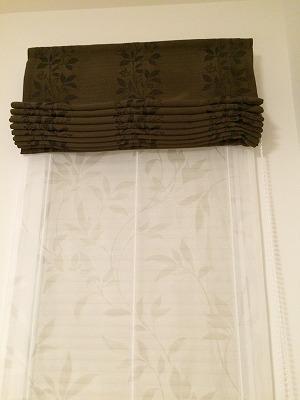 入居宅訪問時のカーテン