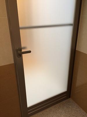 お風呂のドア(内側)