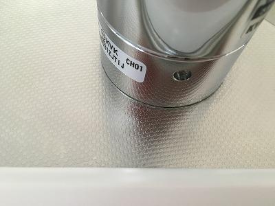 水栓漂白後