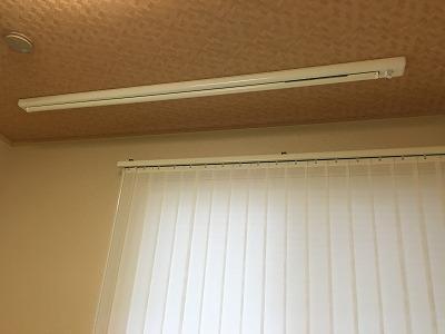 昇降式ホスクリーン(天井収納時)