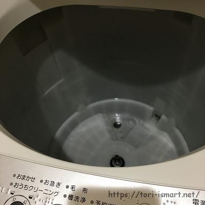 洗濯機分解清掃後_本体